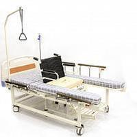 Медицинская кровать для дома с функцией переворота и интегрированным креслом-каталкой INTEGRA