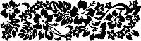 Переводки двусторонние самоклеющиеся -  Hawaiian Hibiscus (гавайский гибискус)