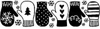 Переводки двусторонние самоклеющиеся - Winter Warmers (зимние согревающие)