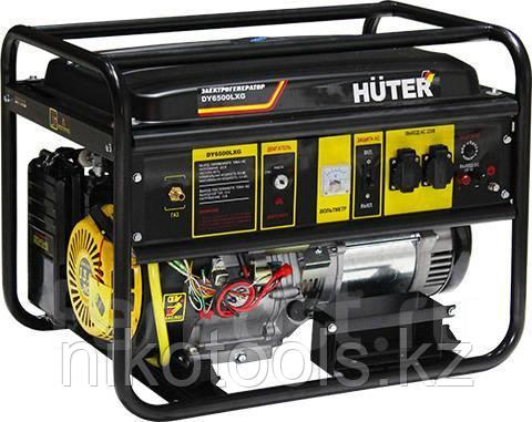 Газовый / бензиновый генератор  DY6500LXG Huter (мультитопливный)