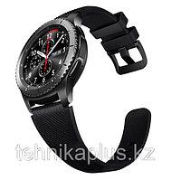 Ремешок силиконовый Samsung Gear S3 (черный)