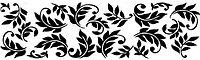 Переводки двусторонние самоклеющиеся - Leaf Nouveau (лист нуво)
