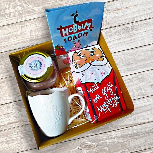 """Подарок """"Корпоративный"""" с чаем"""