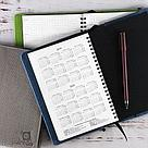 Ежедневник с кармашками. Синий, фото 5