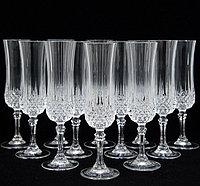 Набор хрустальных бокалов для шампанского Eclat Longchamp 140 мл (6 штук), фото 1