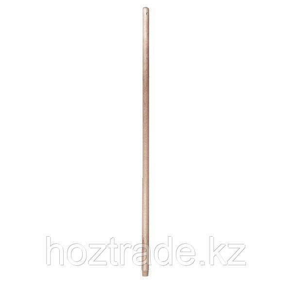Деревянная рукоятка для щетки York с резьбой