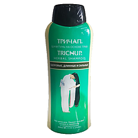 Trichup herbal shampoo healthy long-strong, Натуральный шампунь для роста волос,  400 мл