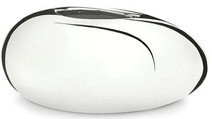 Кашпо керамика серия BOWLS MIRROR SILVER 432/18 Scheurich Германия