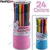 Фломастеры Aihao 24 цвета (круглый)