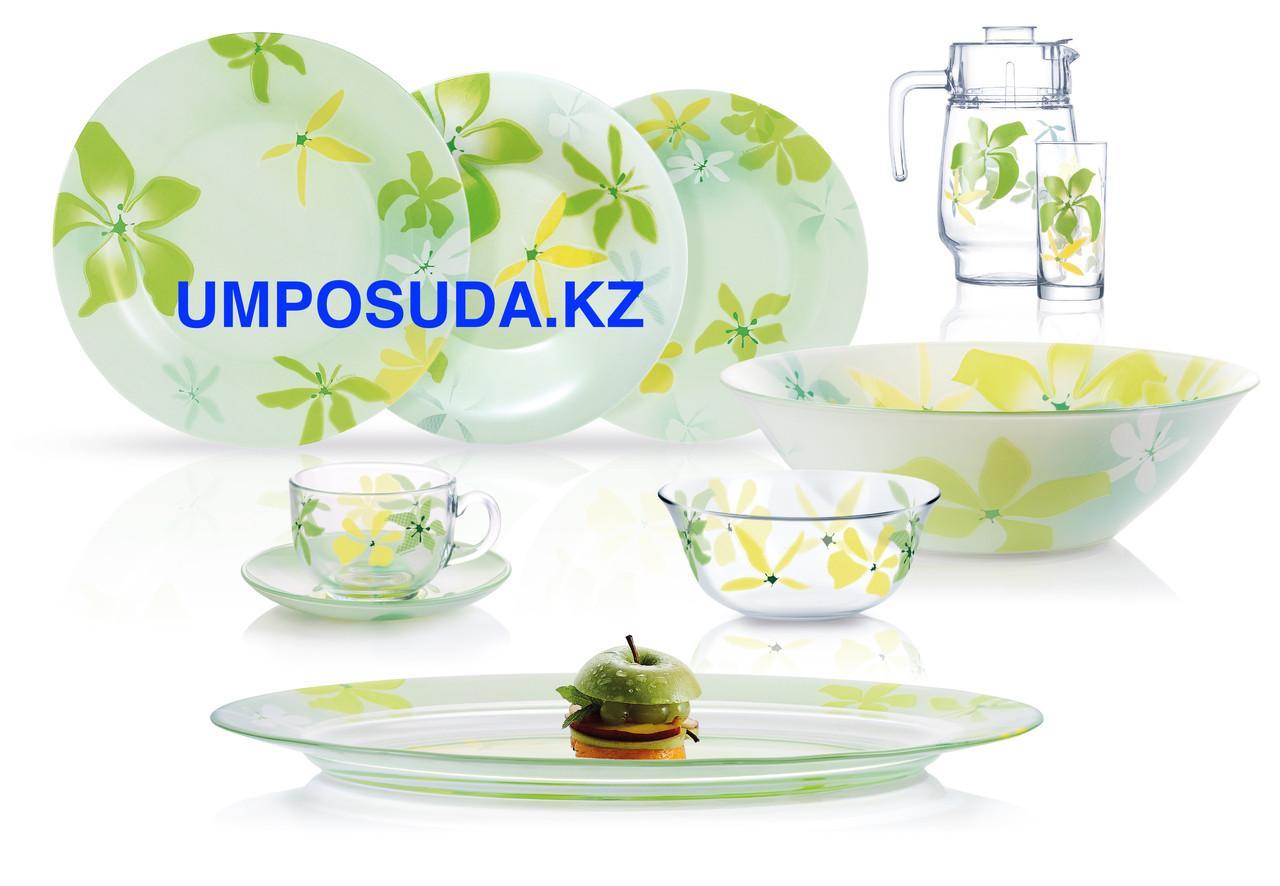 Столовый сервиз Luminarc Green Ode 46 предметов на 6 персон