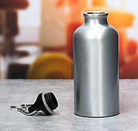 "Набор бутылка для воды 400 мл, полотенце ""Настоящему мужчине"" , фото 3"