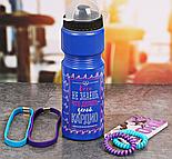 """Набор """"Делай кардио"""", бутылка для воды 800 мл, повязка для волос 2шт., блокнот , фото 2"""