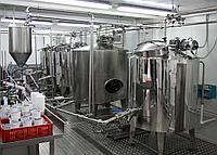Минизавод для переработки молока на 500 л/смену, 4 в 1,