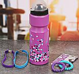 """Набор """"Треугольники"""", бутылка для воды 800 мл, повязка для волос 2шт., блокнот , фото 2"""