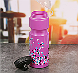 """Набор """"Треугольники"""", бутылка для воды 800 мл, повязка для волос 2шт., блокнот , фото 3"""