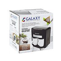 Кофеварка электрическая GALAXY GL 0708 (черная), фото 3