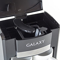 Кофеварка электрическая GALAXY GL 0708 (черная), фото 2