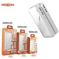 Портативное зарядное устройство PowerBank на 20 000мАч MoxoM (ОРИГИНАЛ)