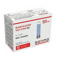 Тест-полоски для контроля уровня глюкозы в крови GAMMA MS, фото 2