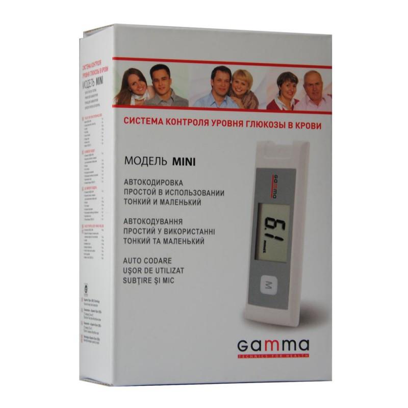 Система контроля уровня глюкозы в крови GAMMA:MINI