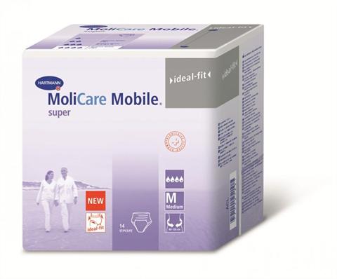 MoliCare Mobile - Моликар Мобайл - Впитывающие трусы, pазмер M, 14 шт., фото 2