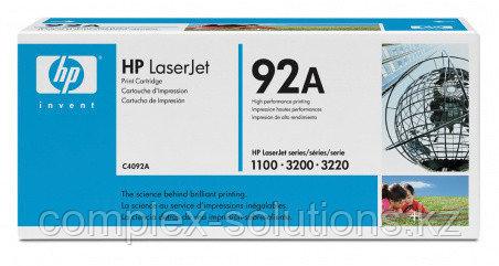 Картридж HP Europe C4092A [C4092A] | [оригинал]