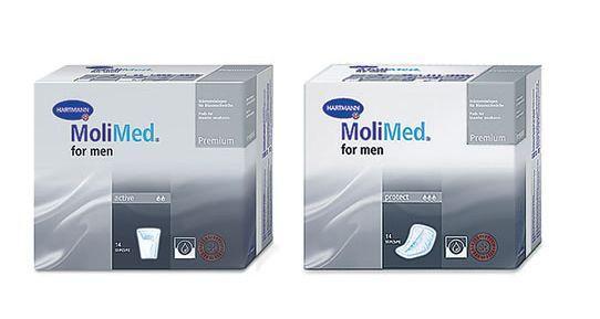Прокладки урологические мужские MOLIMED Premium f/men active 14 штук