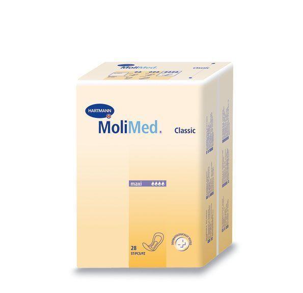 Прокладки урологические женские MoliMed Classic maxi (RUS) 28 штук