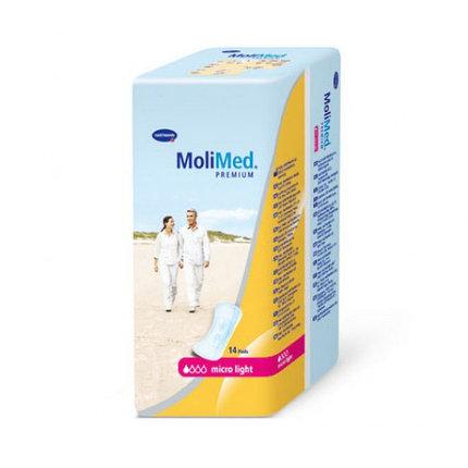 Прокладки урологические женские MOLIMED Premium MICRO-прокл.уролог. 14 штук, фото 2
