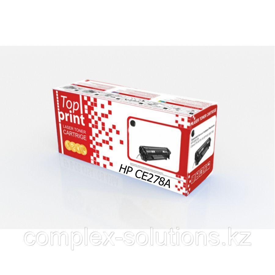 Картридж H-P CE278A |  CANON 728 Top print | [качественный дубликат]