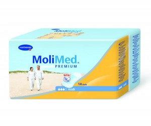 Прокладки урологические женские MoliMed Premium mini (RUS) 14 штук, фото 2