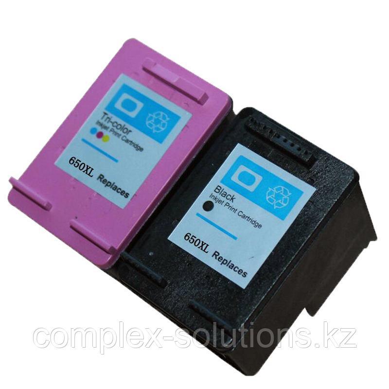 Картридж HP CZ102AE Color №650 JET TEK   [качественный дубликат]