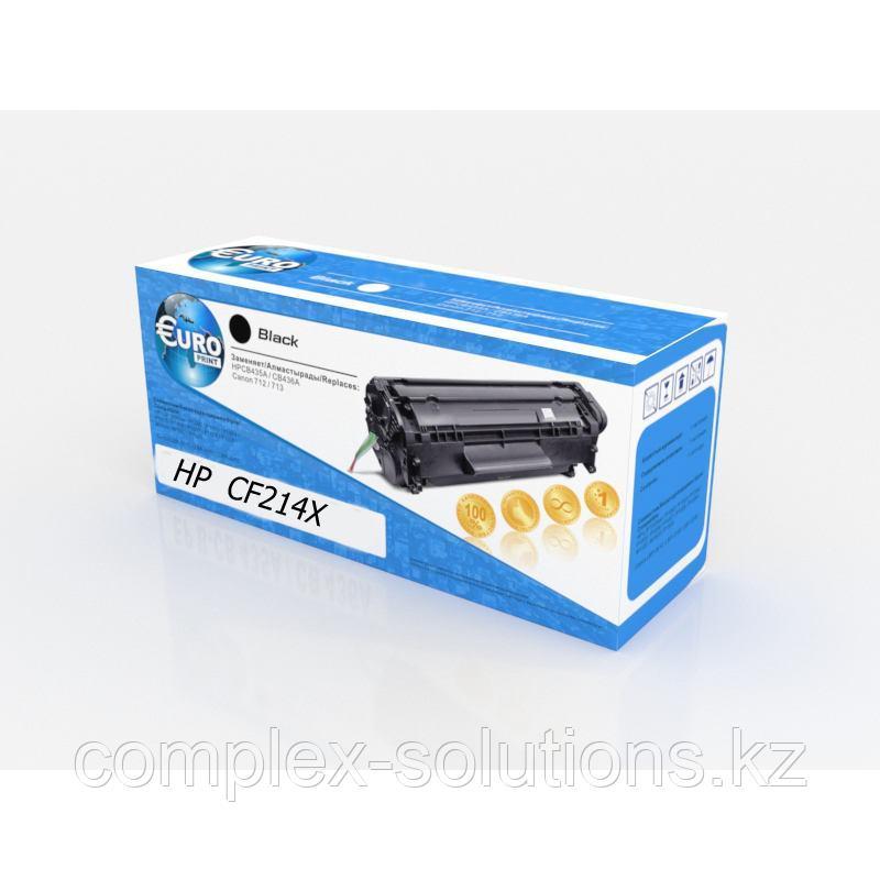 Картридж HP CF214X (№14X) Euro Print | [качественный дубликат]