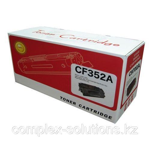 Картридж HP CF352A (130A) Yellow Retech | [качественный дубликат]
