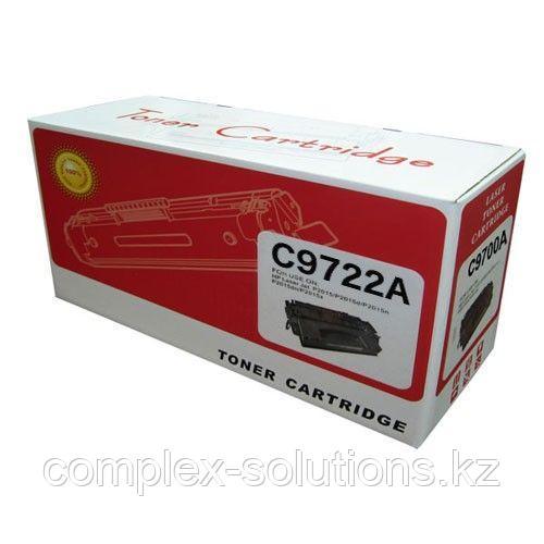 Картридж HP C9722A Yellow Retech   [качественный дубликат]