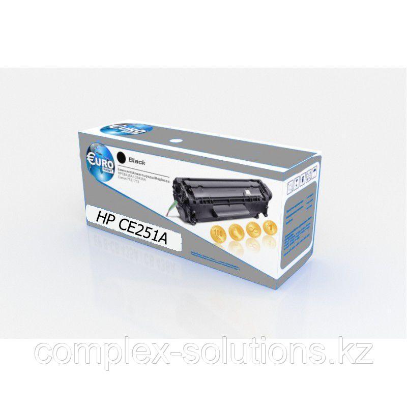 Картридж H-P CE251A Cyan Euro Print | [качественный дубликат]