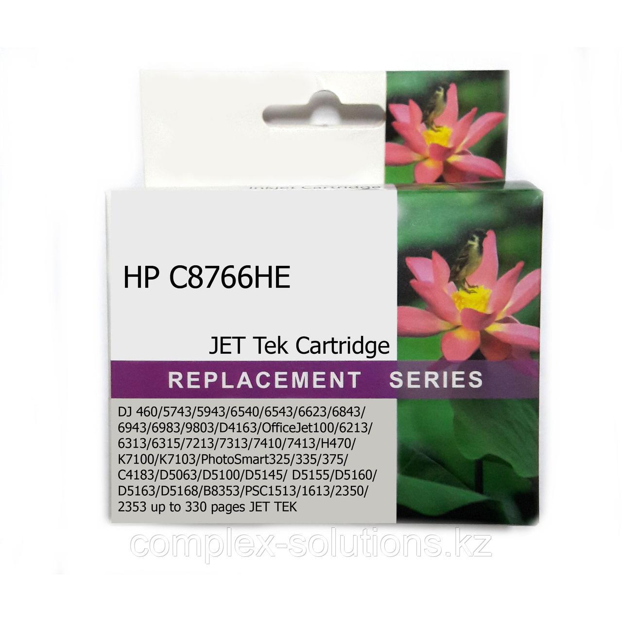 Картридж HP C8766HE Tri-color ,№135 JET TEK   [качественный дубликат]