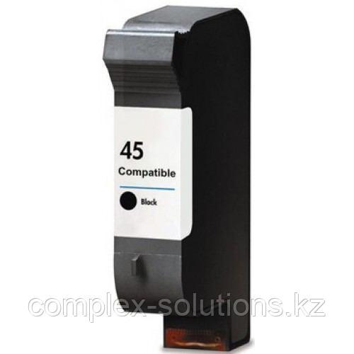 Картридж H-P 51645AE Large Black,№45 JET TEK | [качественный дубликат]