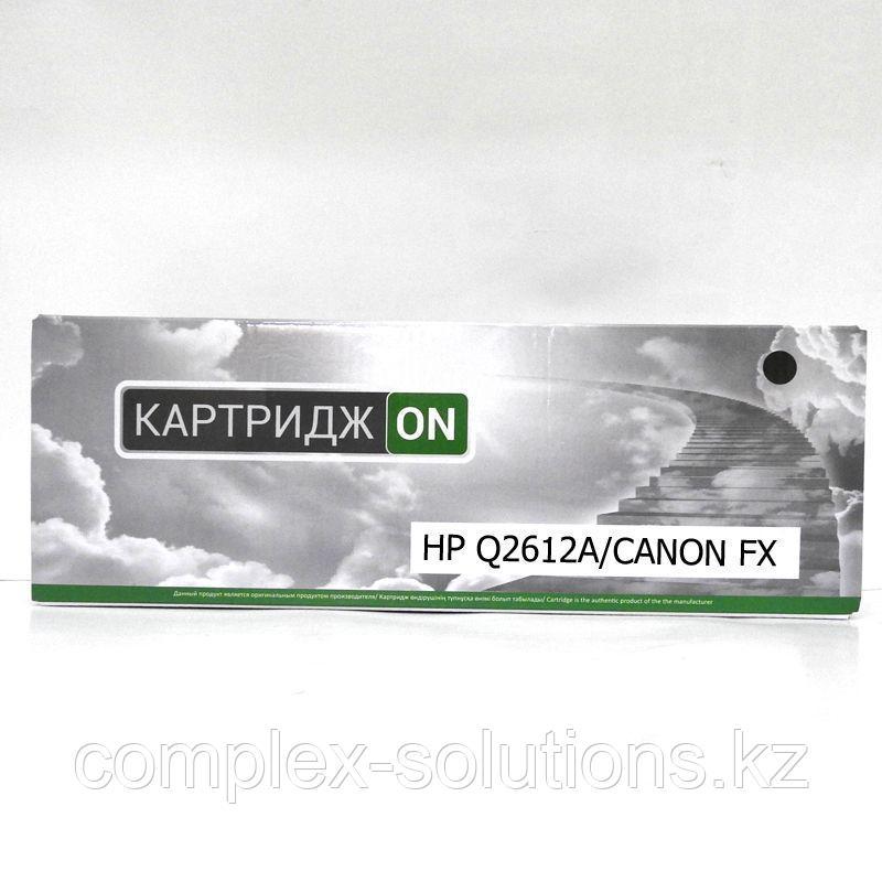 Картридж H-P Q2612A    CANON FX-10 ON   [качественный дубликат]