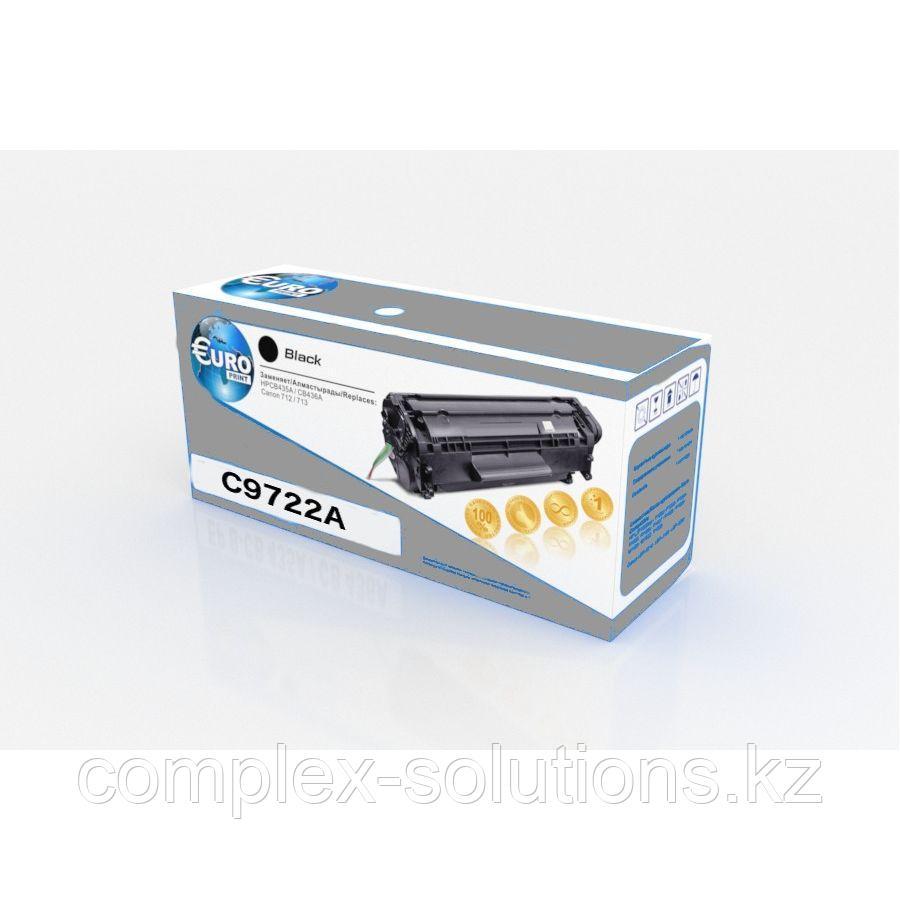 Картридж HP C9722A Yellow Euro Print   [качественный дубликат]