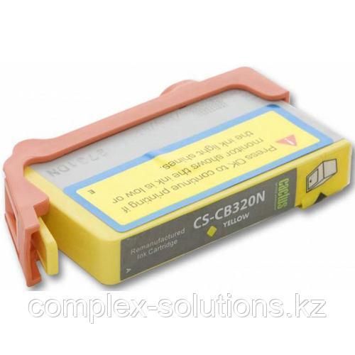 Картридж HP CB320HE №178XL (Y) JET TEK | [качественный дубликат]
