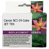 Картридж CANON BCI-24 Color JET TEK | [качественный дубликат]