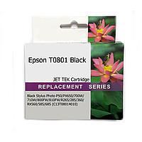 Картридж EPSON T0801 Black JET TEK | [качественный дубликат]