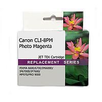 Картридж CANON CLI-8PM Photo Magenta JET TEK | [качественный дубликат]