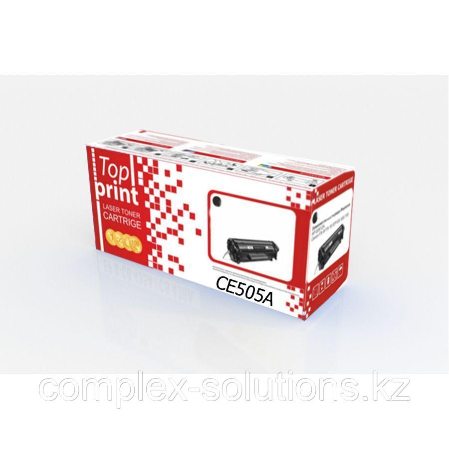 Картридж H-P CE505A  | CANON 719 Top print | [качественный дубликат]