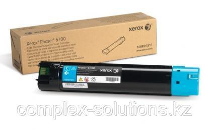 Тонер картридж XEROX 6700 Cyan (5k)   Код: 106R01511   [оригинал]