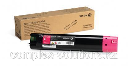 Тонер картридж XEROX 6700 Magenta (5k) | Код: 106R01512 | [оригинал]