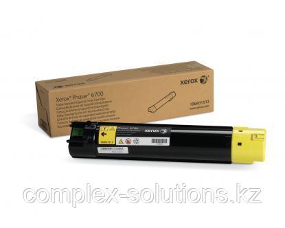 Тонер картридж XEROX 6700 Yellow (5k) | Код: 106R01513 | [оригинал]