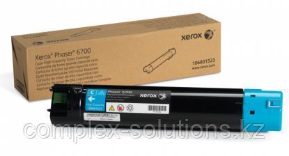 Тонер картридж XEROX 6700 Cyan (12k)   Код: 106R01523   [оригинал]