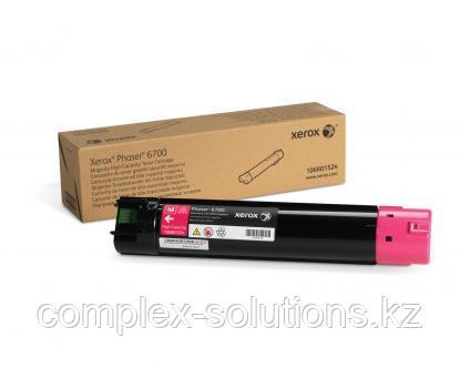 Тонер картридж XEROX 6700 Magenta (12k) | Код: 106R01524 | [оригинал]